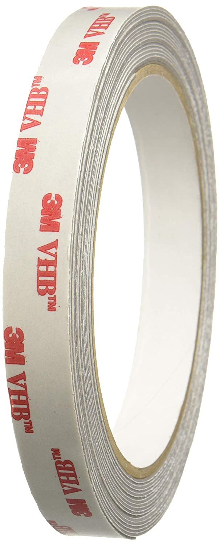 """3M RP25/GRY055 Scotch RP25 VHB Tape: 1/2"""" x 15 ft."""
