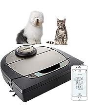 Neato Robotics Premium Pet Edition / Connected - Compatible avec Alexa - Robot aspirateur avec station de charge, Wi-Fi & App