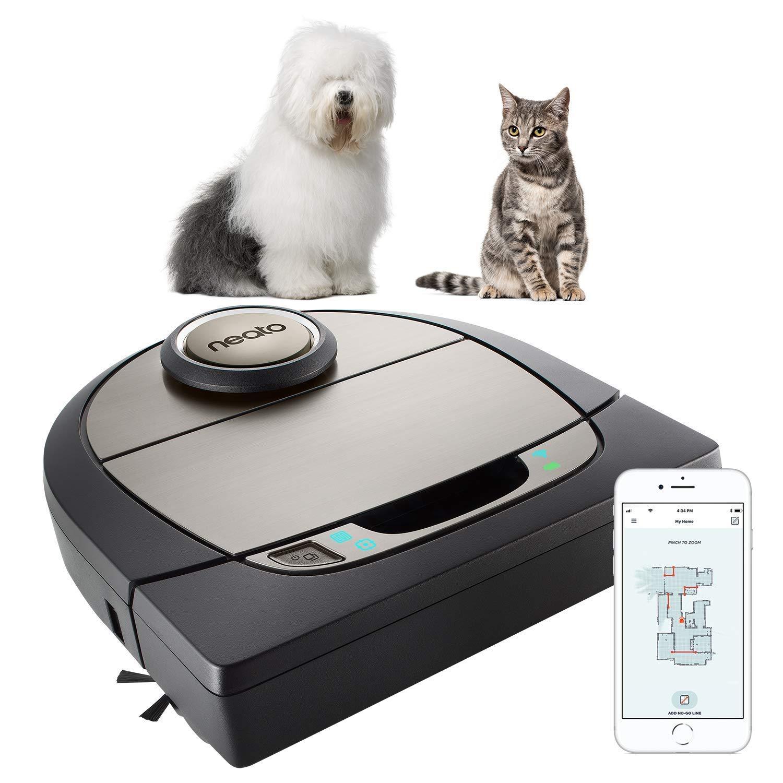 Acquisto Neato Robotics D750 Premium Pet Edition - Compatibile con Alexa - Robot aspirapolvere con stazione di ricarica, Vita della batteria: 120 min, Wi-Fi & App Prezzo offerta