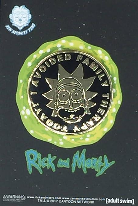Amazon.com: Autorizado de Rick y Morty – I evitarse terapia ...