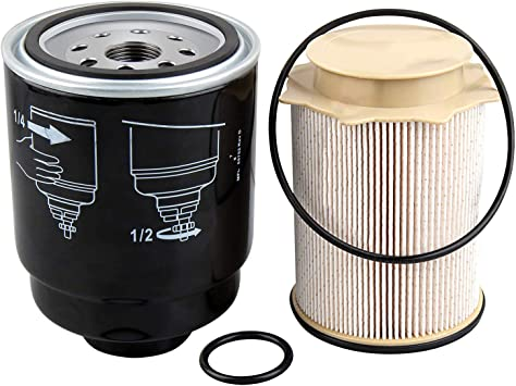 Amazon.com: 6.7 Cummins Fuel Filter Water Separator set Replacement for  Dodge Ram Accessories 2500 3500 4500 5500 2013-2018 6.7L Turbo Diesel  Engines 68197867AA 68157291AA: Automotive | 2014 Ram 2500 Cummins Fuel Filter |  | Amazon.com