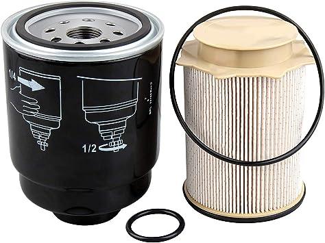 amazon.com: 6.7 cummins fuel filter water separator set replacement for dodge  ram accessories 2500 3500 4500 5500 2013-2018 6.7l turbo diesel engines  68197867aa 68157291aa: automotive  amazon.com