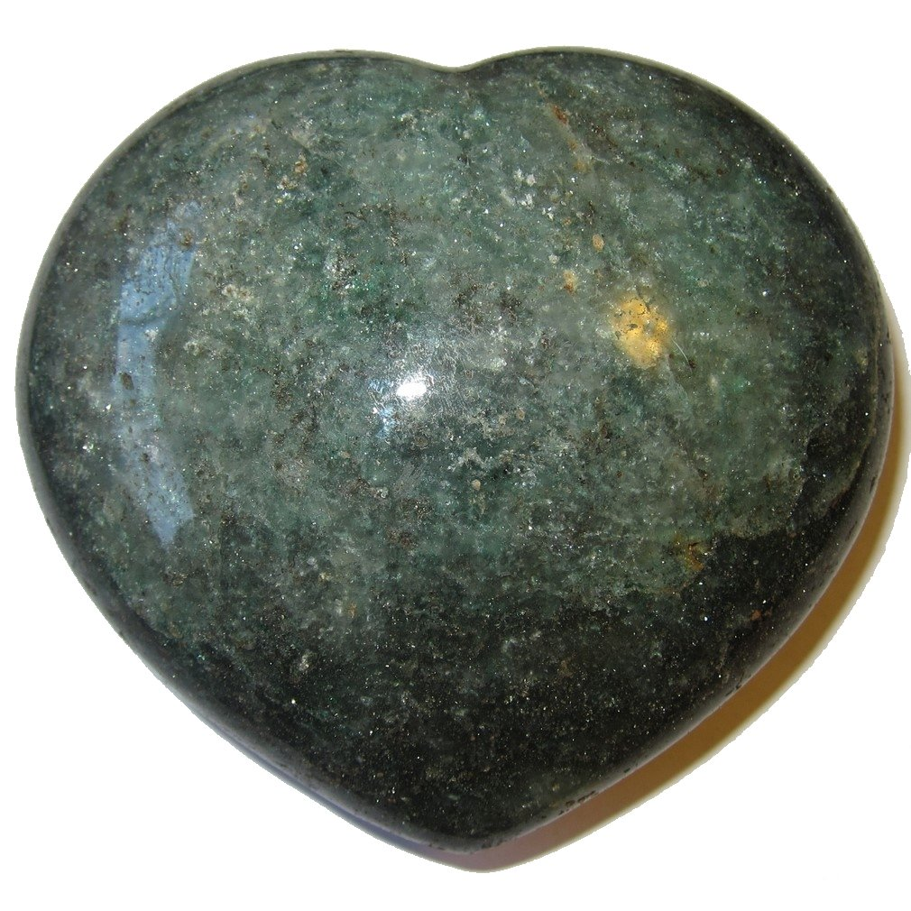 Aventurine Heart Green 52 Jumbo Natural Crystal Declaration of Love Stone Energy Mineral Gem 4.1''