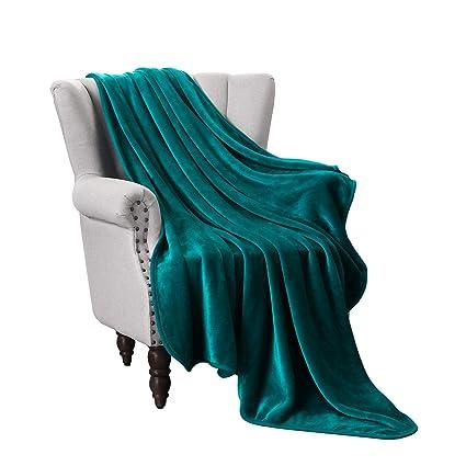 Amazoncom Exclusivo Mezcla Luxury Flannel Velvet Plush Throw
