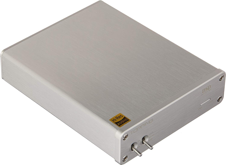 Topping D30 DSD D/écodeur Audio USB Fibre Optique Coaxiale XMOS CS4398 24Bits 192KHz