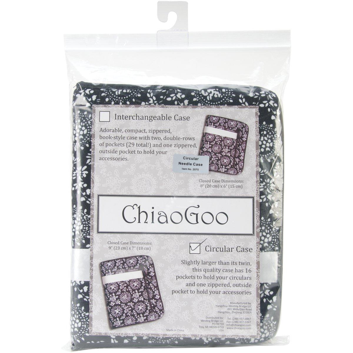 B00QXKA7QI ChiaoGoo White Ribbon Circular Needle Case 71qbMj-2BPWL