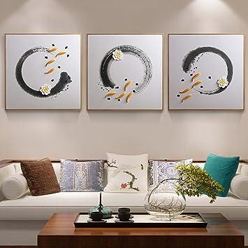 Wanghh Salon Décoration Peinture Moderne Simple 3d Relief Peinture