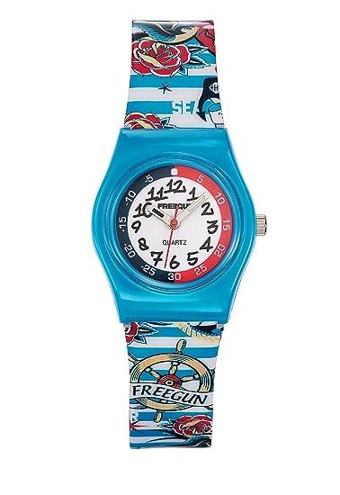 Freegun Reloj Analogico para Nios de con Correa en Plástico EE5197: Amazon.es: Relojes