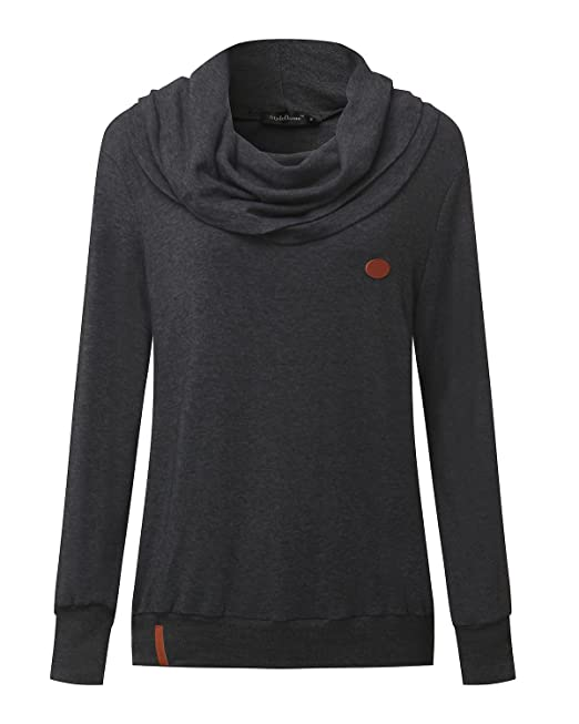 Invierno Suéter Sin Mujer Pulóver Sudadera Styledome Jersey Capucha nOIHxq