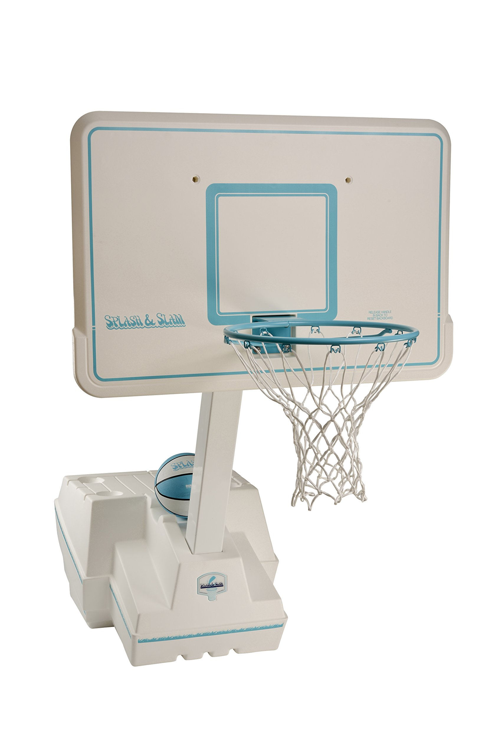 Dunnrite Splash and Slam Portable Swimming Pool Basketball Game Set