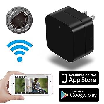 amazon com hidden camera mini hd spy 1080p wifi remote view motion rh amazon com