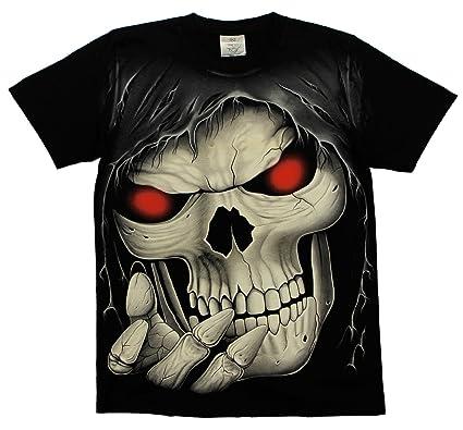ROCK Eagle - Camiseta - para hombre negro large: Amazon.es: Ropa y accesorios