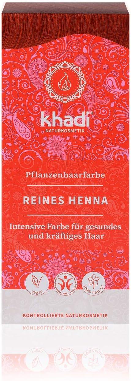Khadi Henna Natural Pura 100 gramos