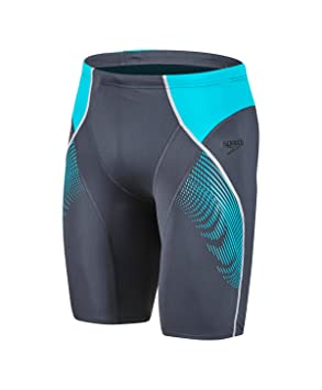 6cc8845379 Speedo Men's Fit Panel Jammer, Oxid/Jade, Size 28: Amazon.co.uk ...