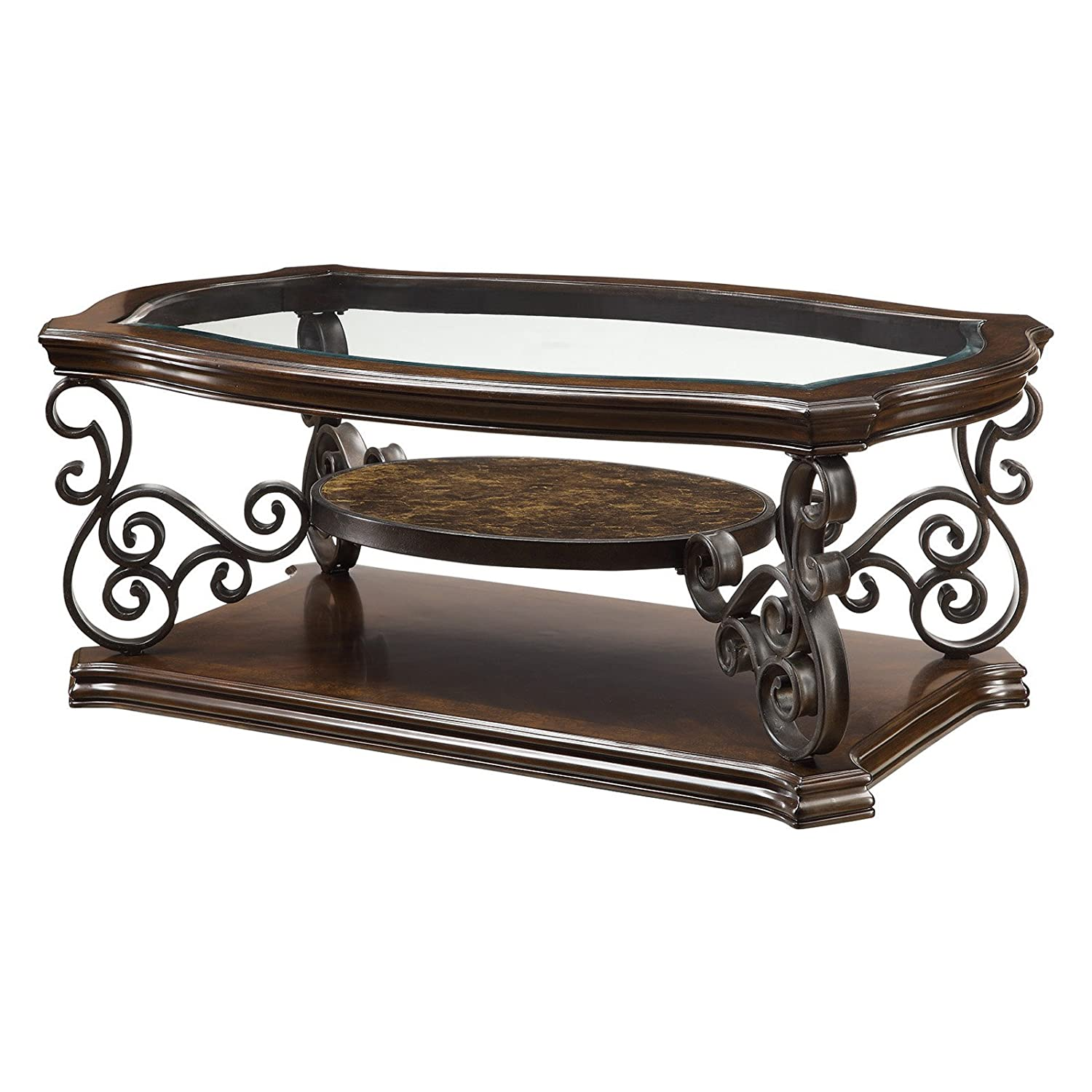 Amazon Coaster Home Furnishings Traditional Coffee Table