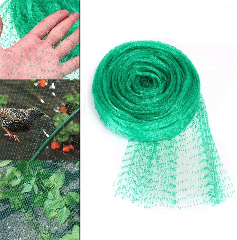 Vegetables Soft Fruits Ponds Many other Uses ADEPTNA Pack of 3 Garden Netting Strong Mesh Protection Each Roll Size 6m X 4m