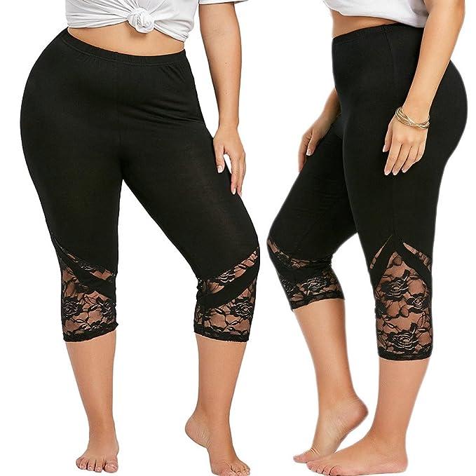 Deportivas Mujer Pantalones Yoga Tallas Grandes Mujeres ...