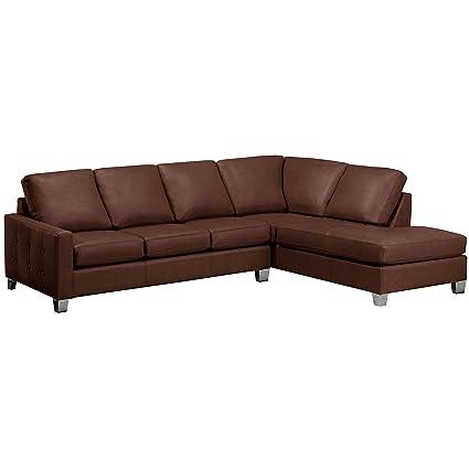 Amazon.com: Sofaweb.com Dean Premium Top Grain Italian Leather ...