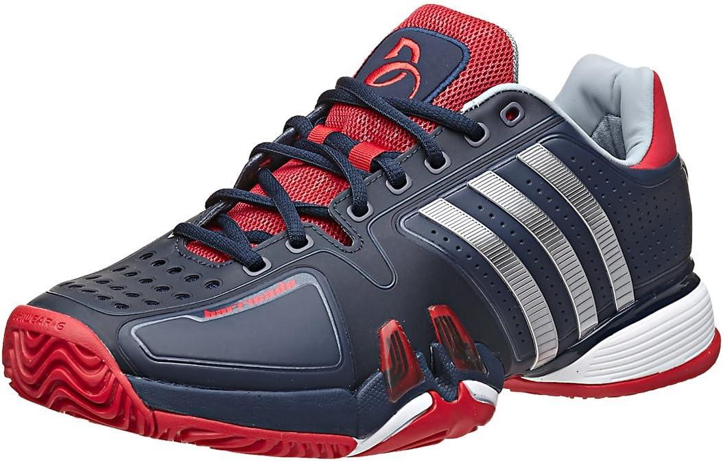 Amazon.com | adidas Barricade 7.0 Novak Mens Tennis Shoe | Tennis ...