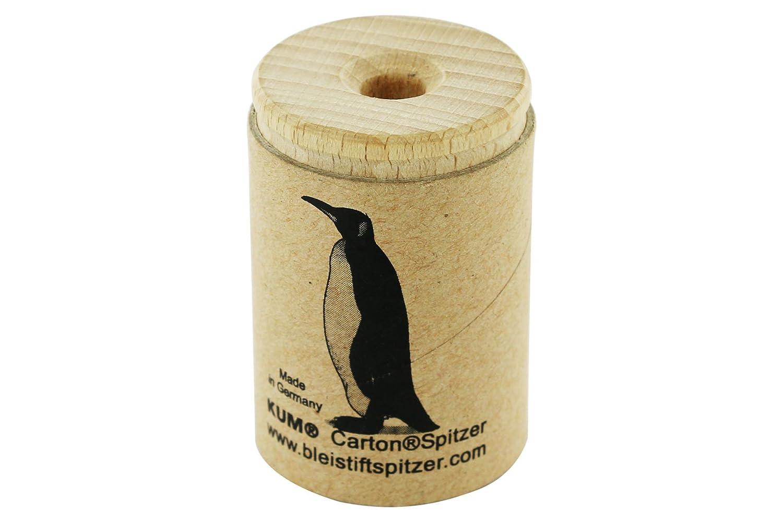 KUM AZ107.08.19-A - Behä lterspitzer Ö ko1 AN Affe, Holz/recycelter Karton, 1 Stü ck
