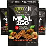 Greenbelly Backpacking Meals - Backpacking Food, Appalachian Trail Food Bars, Ultralight, Non-Cook, High-Calorie, Gluten-Free, Ready-to-Eat, All Natural Meal Bars (9 Variety)