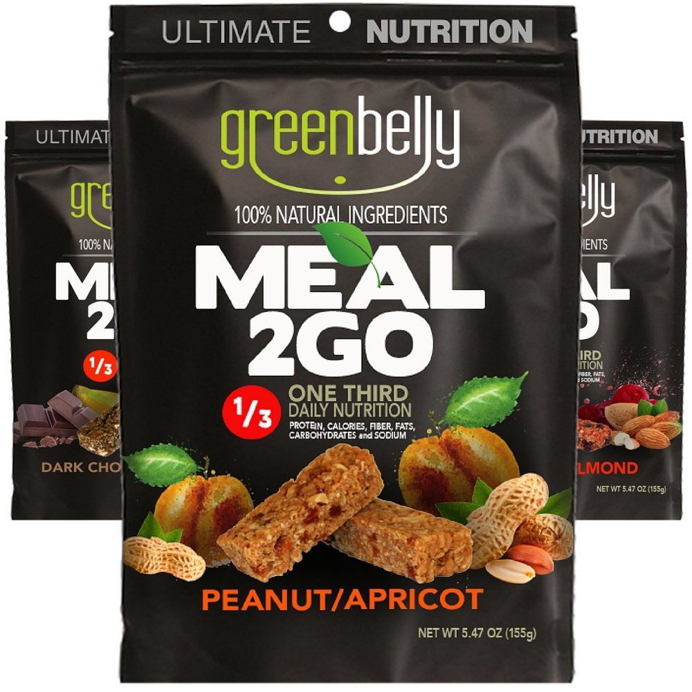 Greenbelly Backpacking Meals - Backpacking Food, Appalachian Trail Food Bars, Ultralight, Non-Cook, High-Calorie, Gluten-Free, Ready-to-Eat, All Natural Meal Bars (9 Variety) by Greenbelly