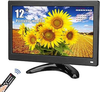 Monitor portátil de 12 Pulgadas, Kenowa Pantalla Full HD 1366 ...
