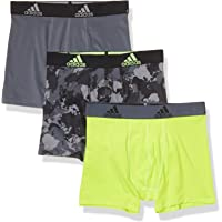 adidas Kid's/Boy's Performance Boxer Brief Underwear (3-Pack) Ropa Interior atlética Niños