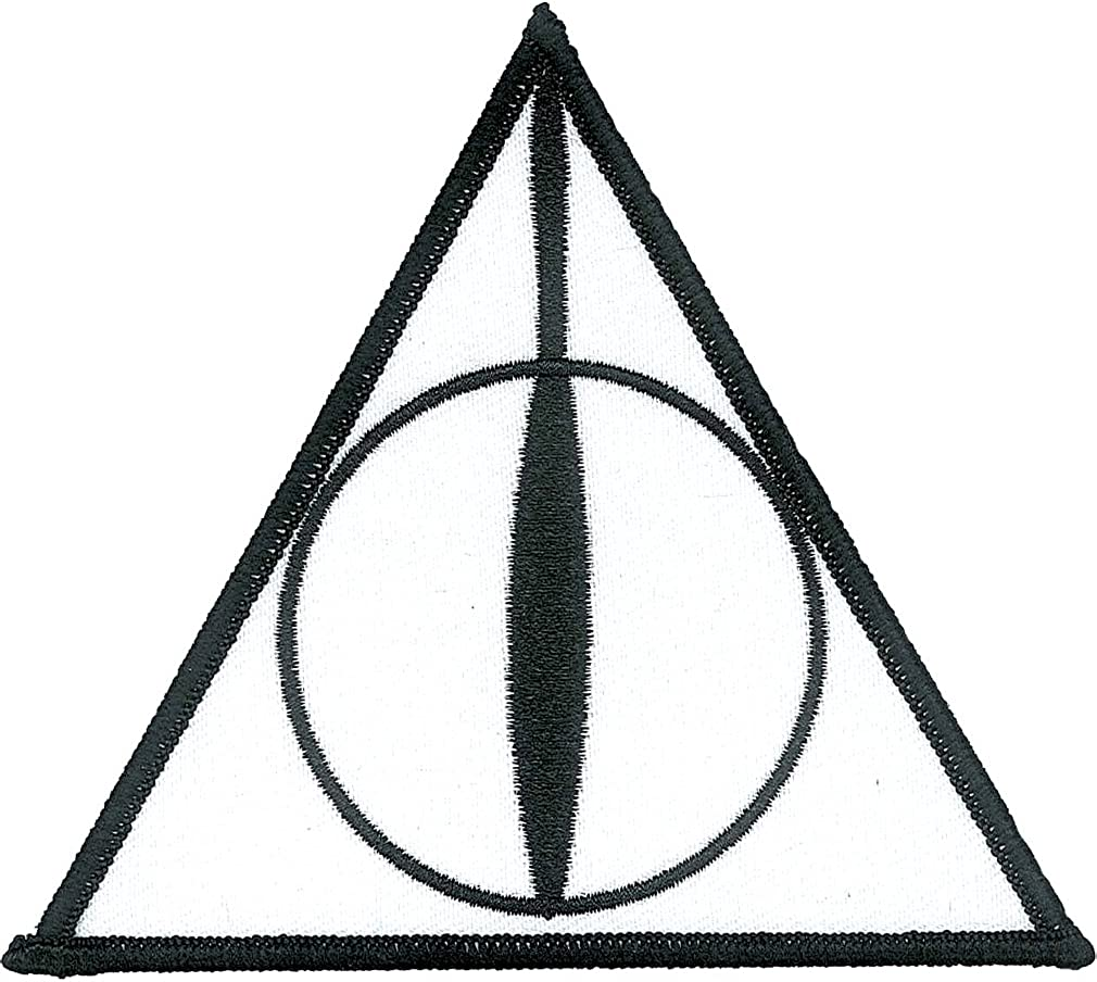 Ata-Boy Harry Potter Deathly Hallows Officially Licensed Patch, Pin and More!