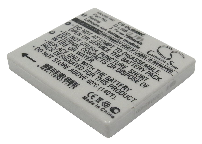 ビントロンズ充電式バッテリー700 mAh for Pentax d-li95、Optio m85、Optio e75   B00KG76RBS