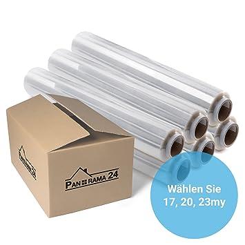 Stretchfolie Wickelfolie Palettenfolie 200m x 500mm x 23 my Verpackungsfolie