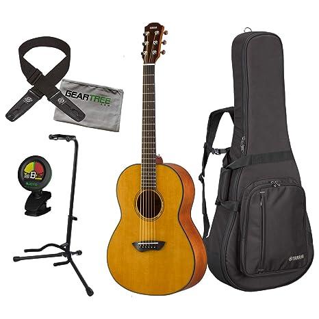 Yamaha CSF3M VN Vintage Natural Parlor Guitarra acústica con ...