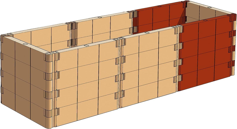 Juwel 20379 Extension pour carr/é Potager sur/élev/é profiline Couleur Terre Cuite
