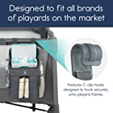 hiccapop Playard Nursery Organizer and Diapers