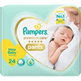Pampers Premium Care Extra Small Size Diapers Pants, 24 Count