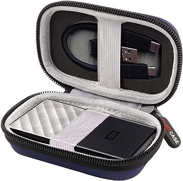 Funda para Disco Duro WD My Passport SSD de 256 GB.: Amazon.es ...