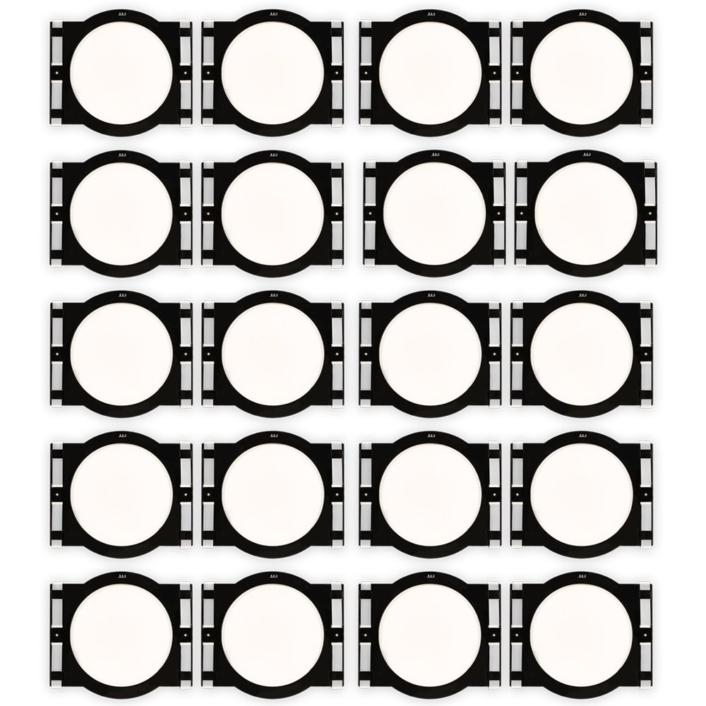 Theater Solutions RK8C In Ceiling Installation Rough In Kit for 8'' Speakers 10 Pair Pack by Theater Solutions
