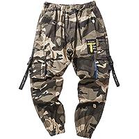 Herenbroek Camouflagebroek Casual broek Lente en herfst Katoenen broek met meerdere zakken Mode Beam Voeten Overalls…