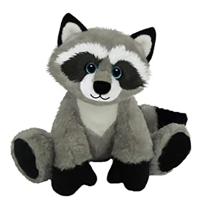 "First & Main Sitting Floppy Friends Raccoon Plush Toy, 7"""" H: Toys & Games"