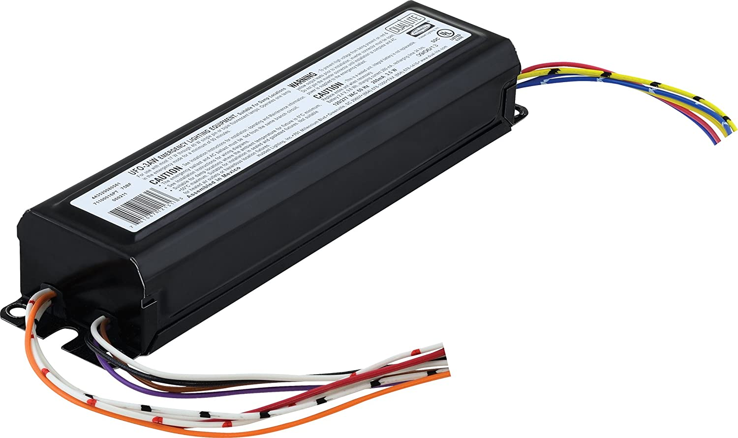 Dual Lite Ufo 3aw Approved Fluorescent Lighting Emergency Ballast Wiring Diagram Battery Pack