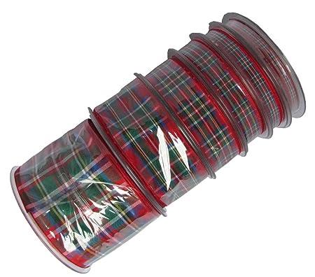 Cinta con cuadros escoceses diseño de Royal Stewart, disponible en ...