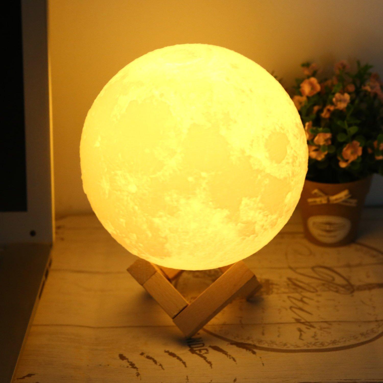 110V Modern Crystal Ceiling Light Pendant Lamp (7 inch Diameter) by Fashine (Image #1)