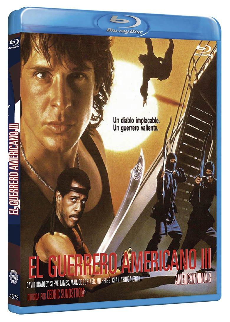Amazon.com: El Guerrero Americano 3 BD 1989 American Ninja 3 ...