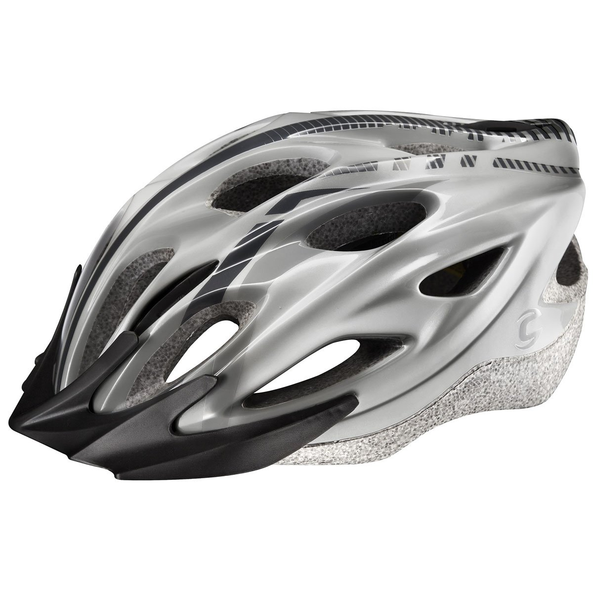 Cannondale Quick MTB Cycling Helmet - Silver-Large - Xlarge ...