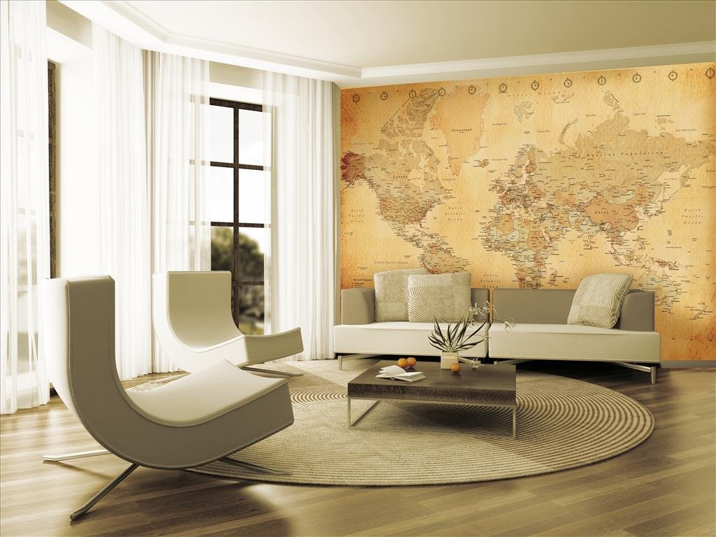 1 wall vintage old map wall mural wood beige 315 x 232 m 1 wall vintage old map wall mural wood beige 315 x 232 m amazon kitchen home gumiabroncs Image collections