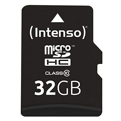 Amazon.com: Intenso 32GB Micro SD Card Class 10 (3413480 ...