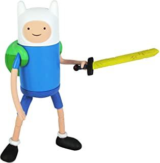 Amazon adventure time 5 action figure beemo toys games adventure time 5 finn with accessories voltagebd Images