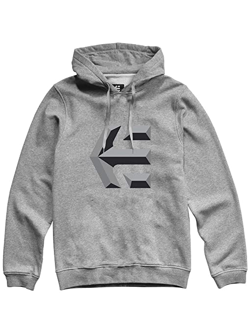 ETNIES MOD ICON PULLOVER, MAN, Color: GREY/HEATHER, Size: S