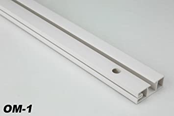 Häufig 2 Meter PVC Gardinenschiene Schiebevorhang Vorhangschiene JH05