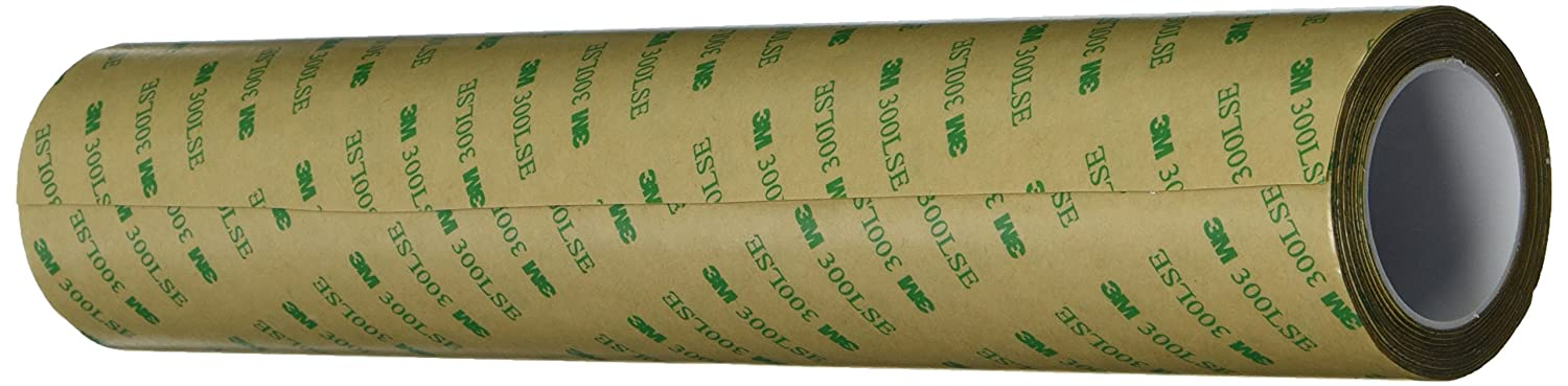 "3M 9495LE 0.25"" x 60yd Adhesive Transfer Tape 0.25"" x 60 yd, Transparent"
